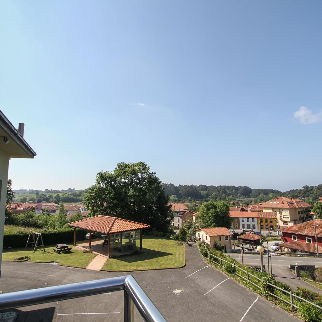 vista de terraza exterior