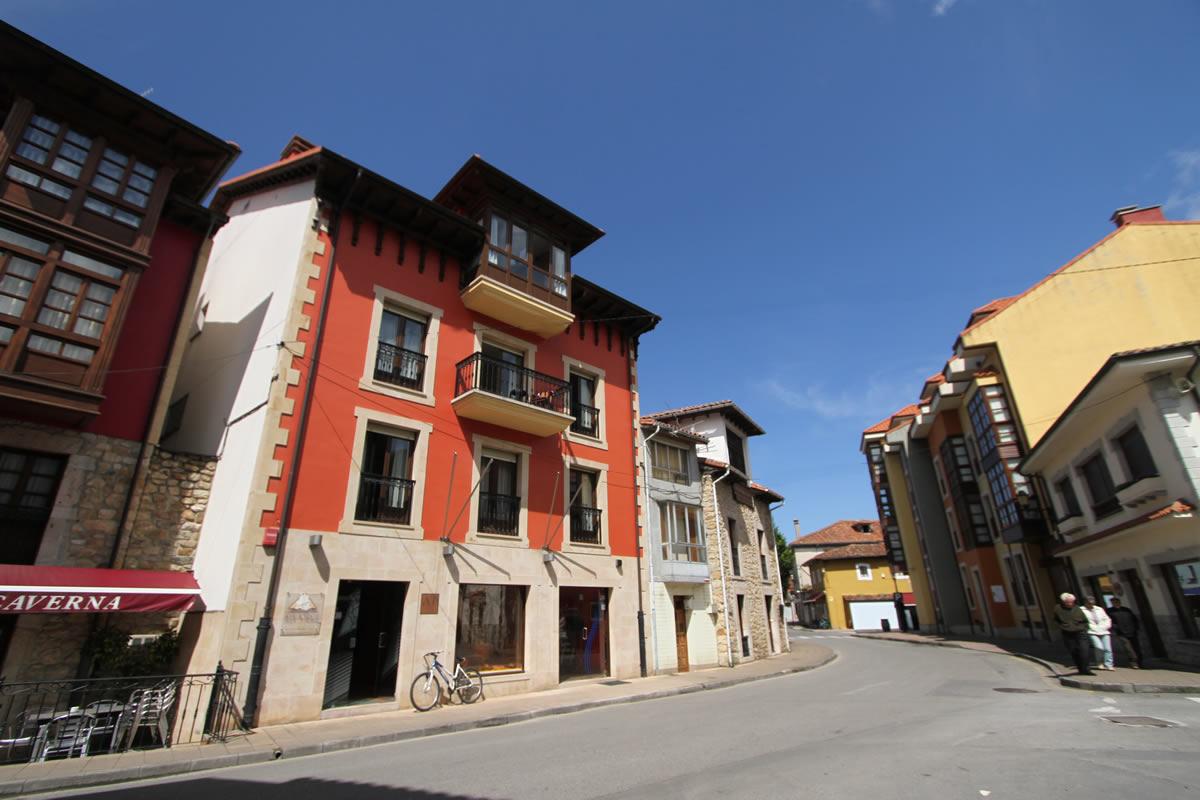 fachada principal apartamentos